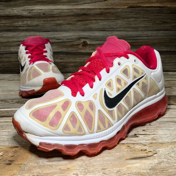 Nike Shoes - Nike Air Max+ 2011 Pink Atletic Shoes Women 5.5
